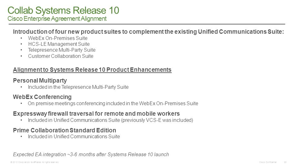 Collab Systems Release 10