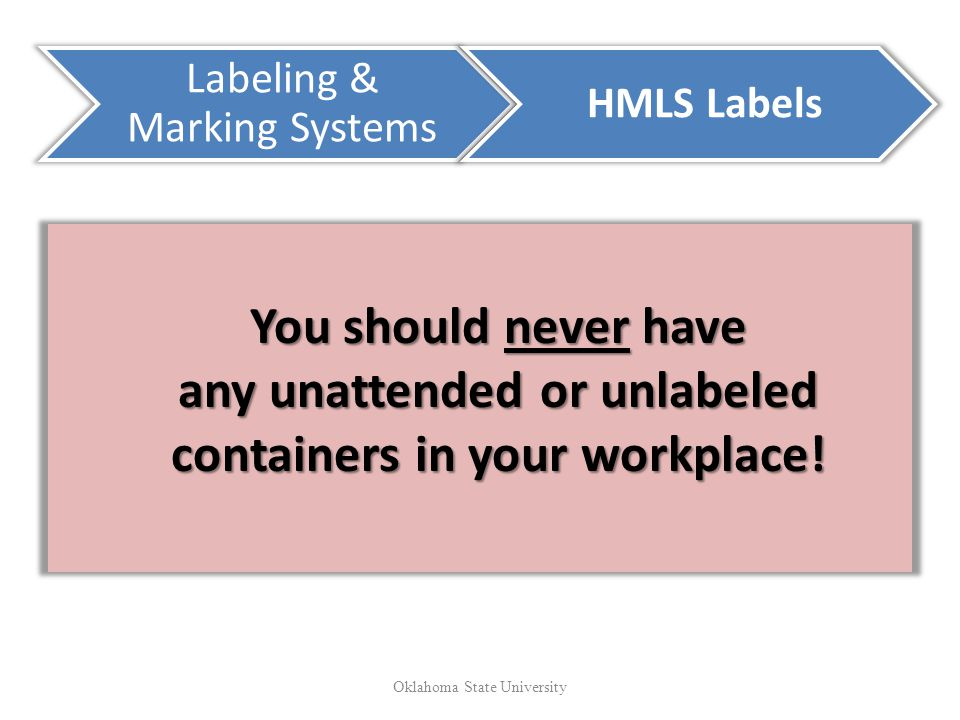 Labeling & Marking Systems