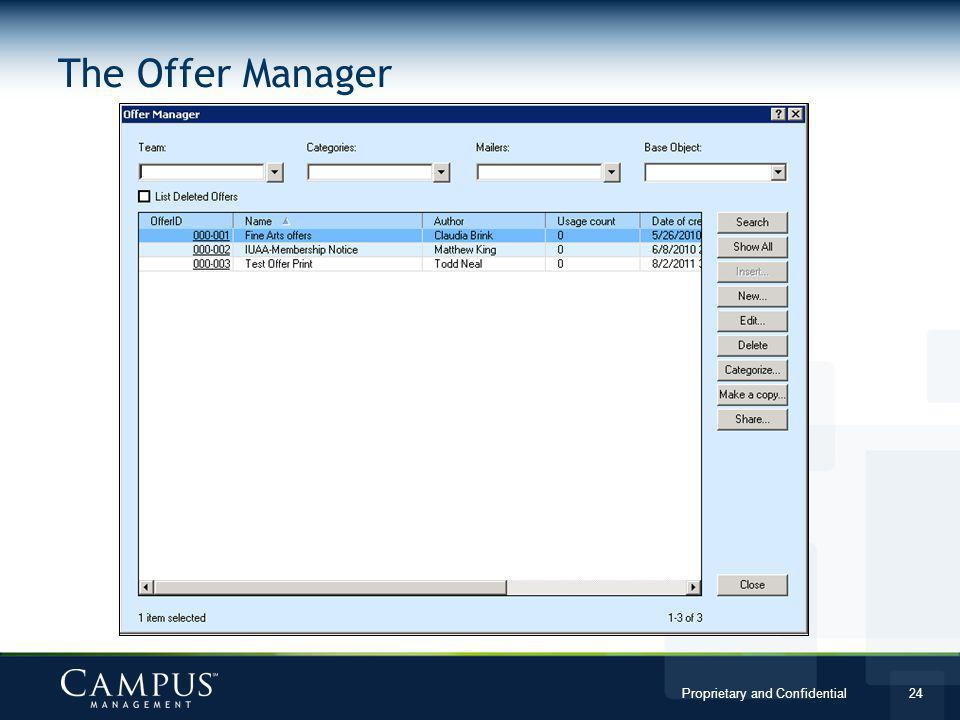 The Offer Manager