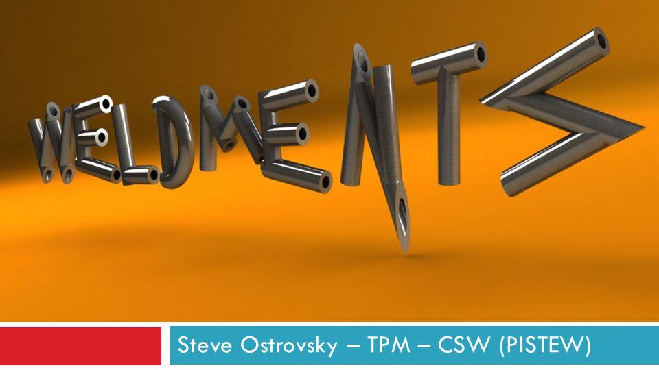Steve Ostrovsky – TPM – CSW (PISTEW)