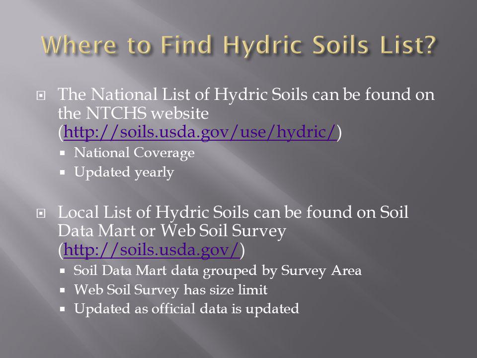 Lenore matula vasilas soil scientist nrcs soil survey for Where to find soil