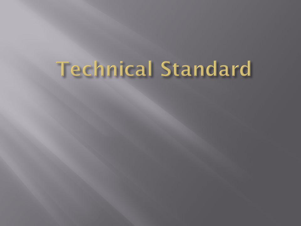 Technical Standard