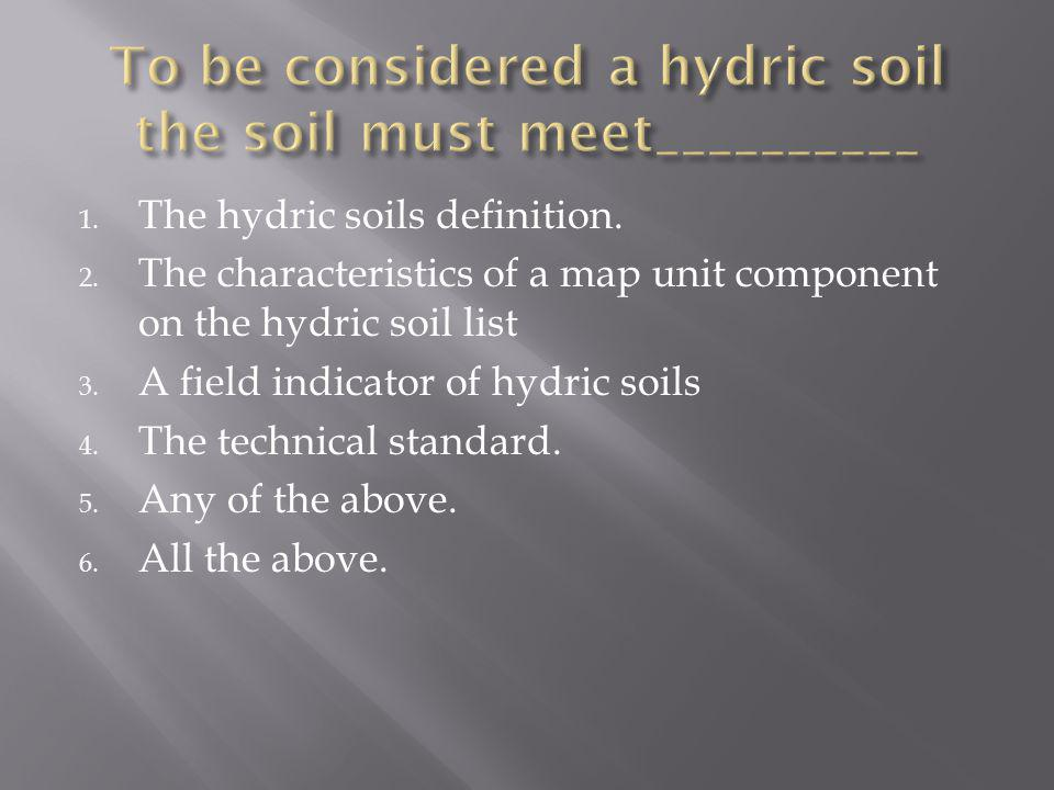 Lenore matula vasilas soil scientist nrcs soil survey for Soil definition