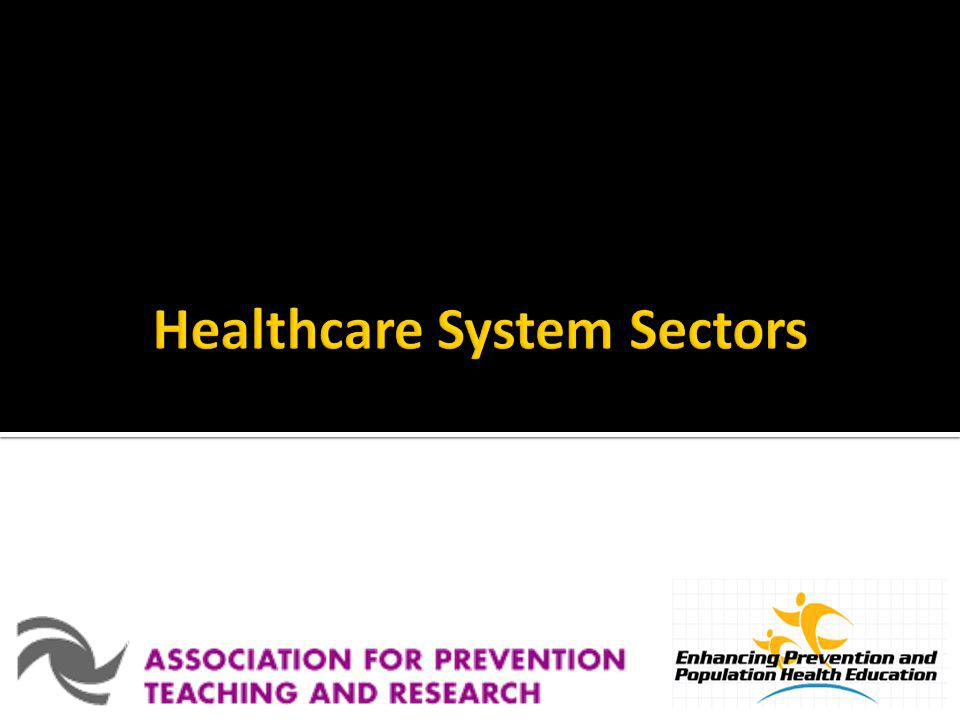 Healthcare System Sectors