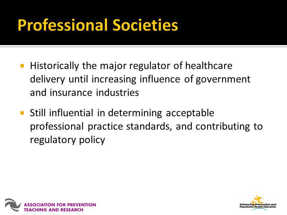 Professional Societies