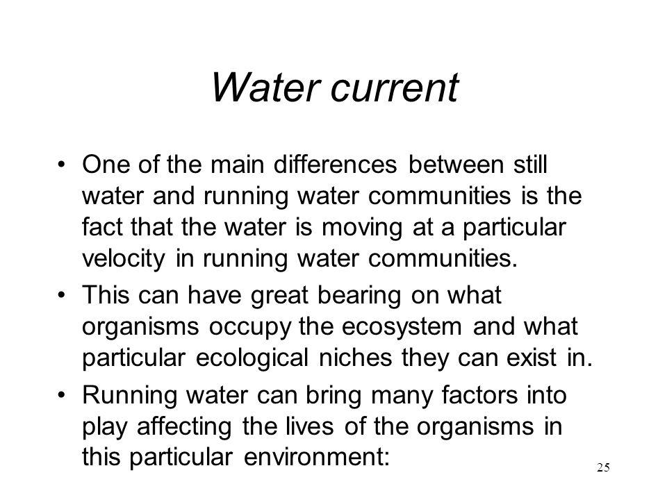 Water current