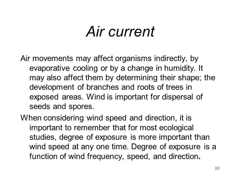 Air current