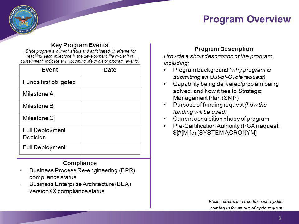 Defense Business System (DBS) Prior Certification Amount