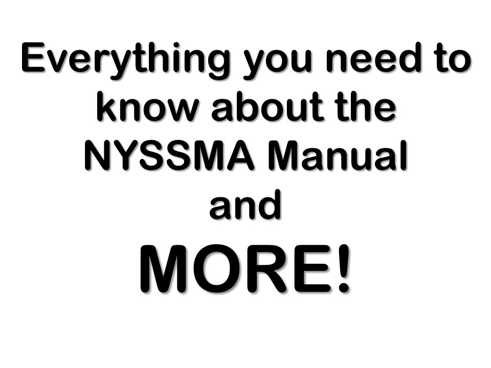 Everything you need to know about the NYSSMA Manual and MORE!