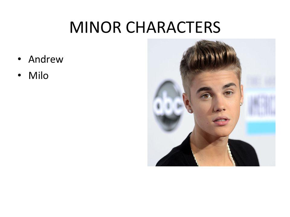 MINOR CHARACTERS Andrew Milo