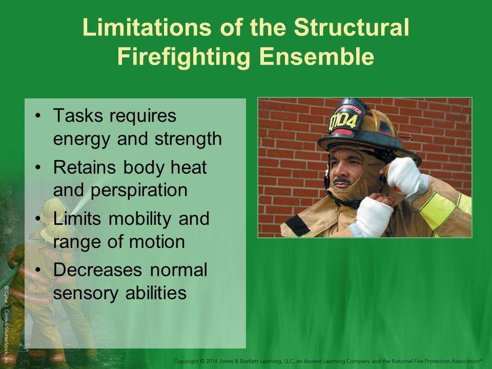 Limitations of the Structural Firefighting Ensemble