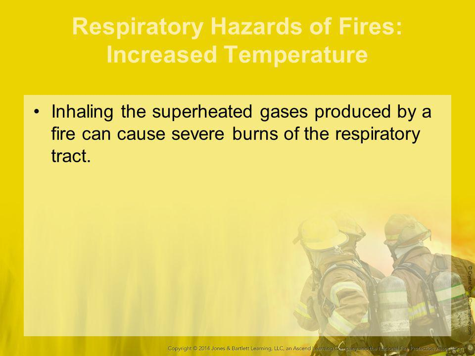 Respiratory Hazards of Fires: Increased Temperature