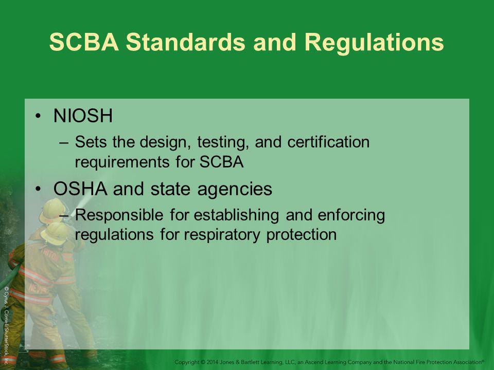 SCBA Standards and Regulations
