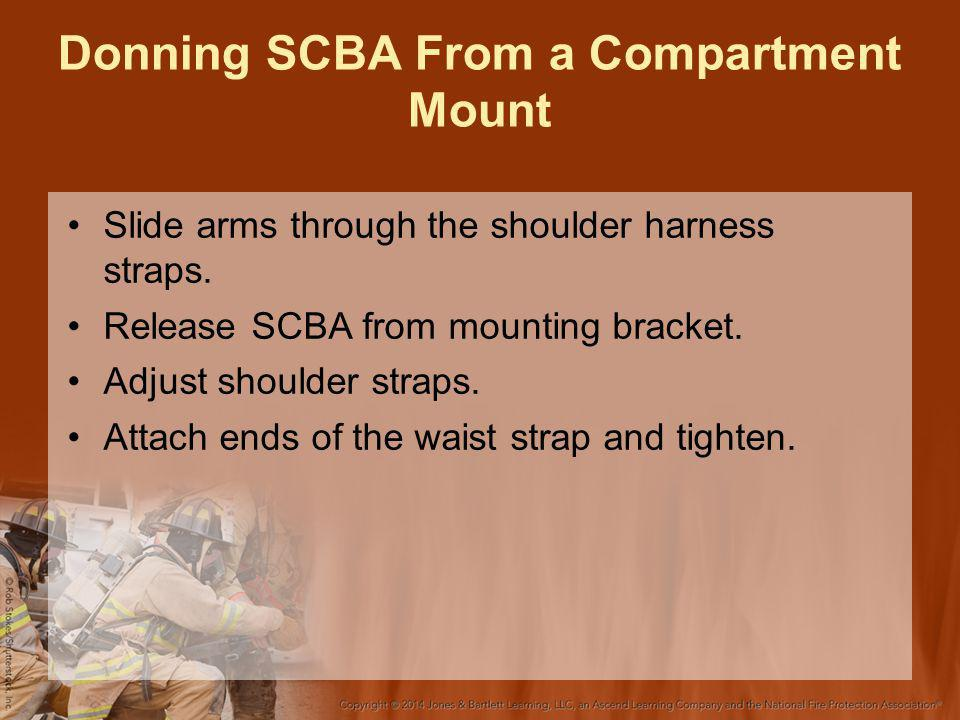 Donning SCBA From a Compartment Mount