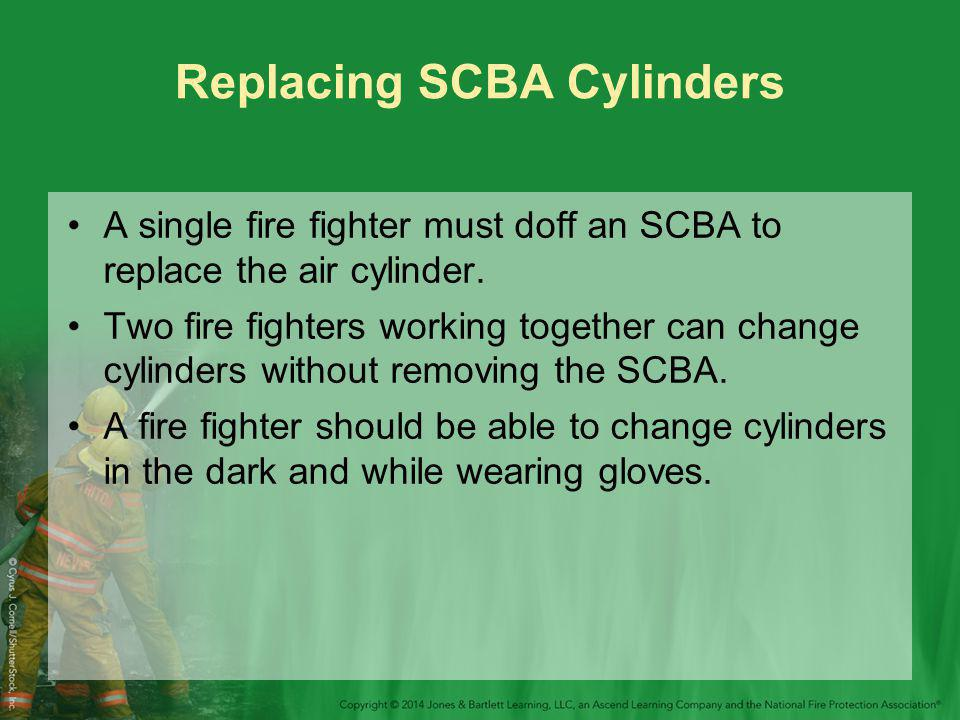Replacing SCBA Cylinders