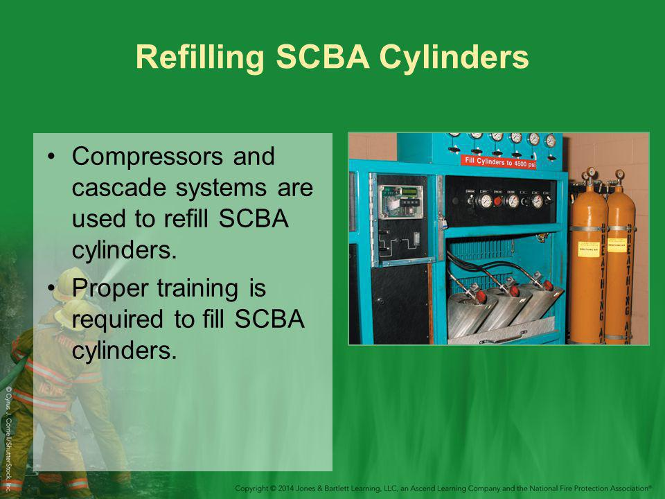 Refilling SCBA Cylinders