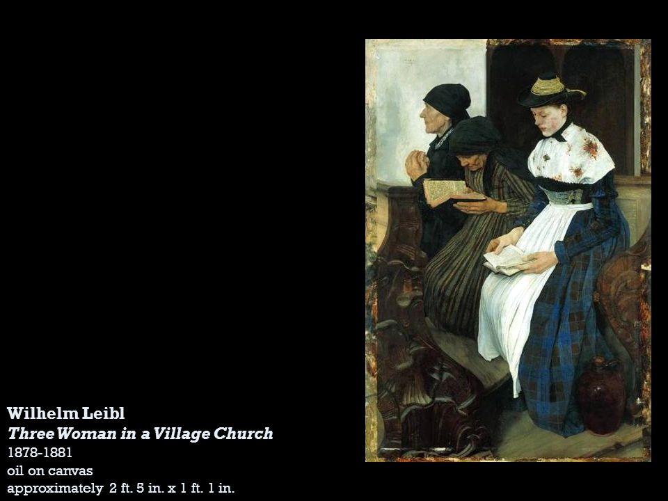 Three Woman in a Village Church