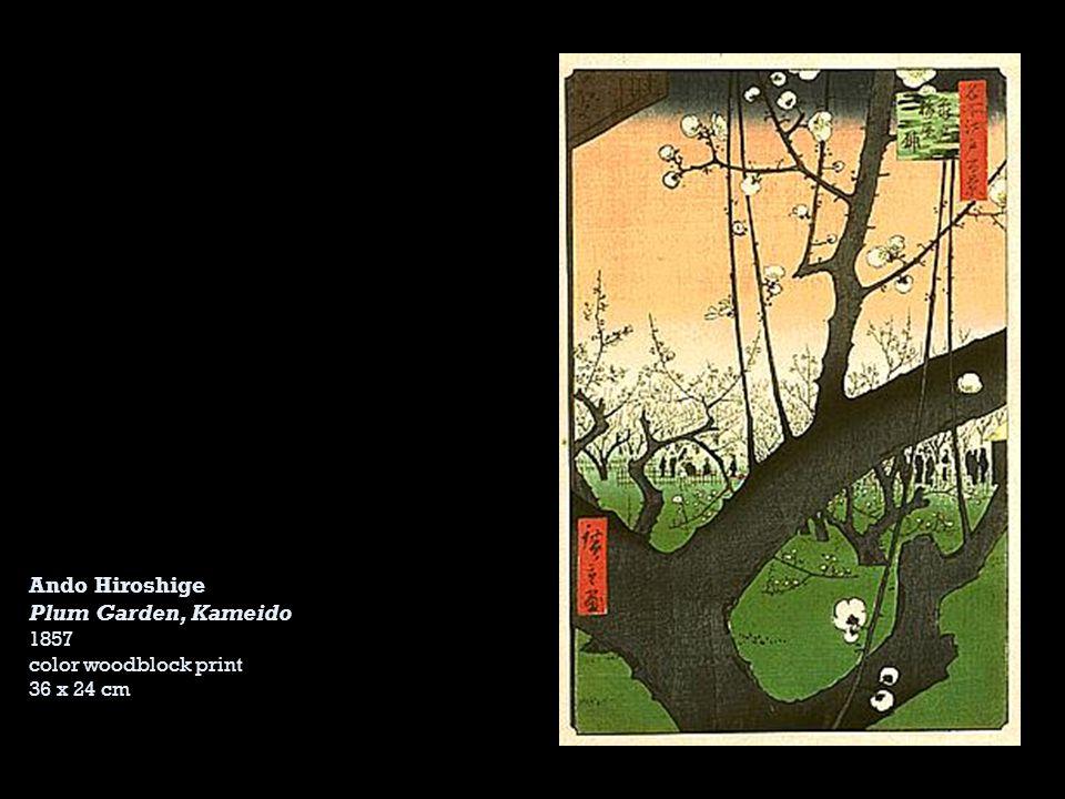 Ando Hiroshige Plum Garden, Kameido