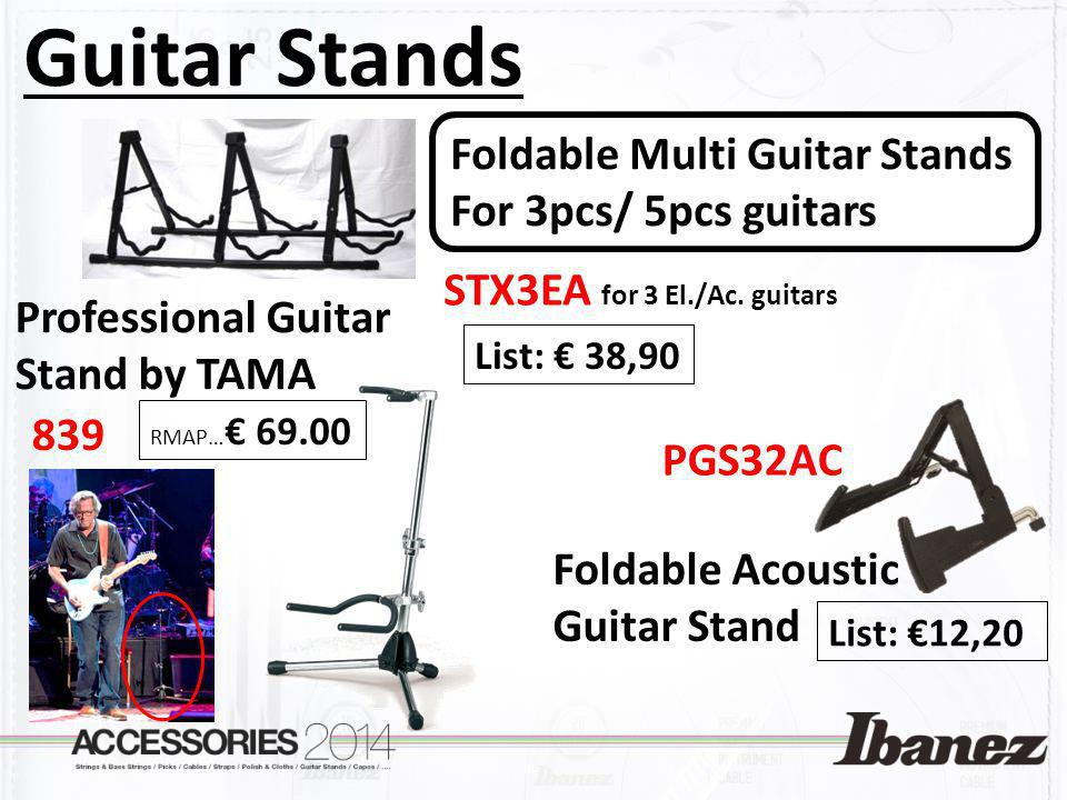 Guitar Stands Foldable Multi Guitar Stands For 3pcs/ 5pcs guitars