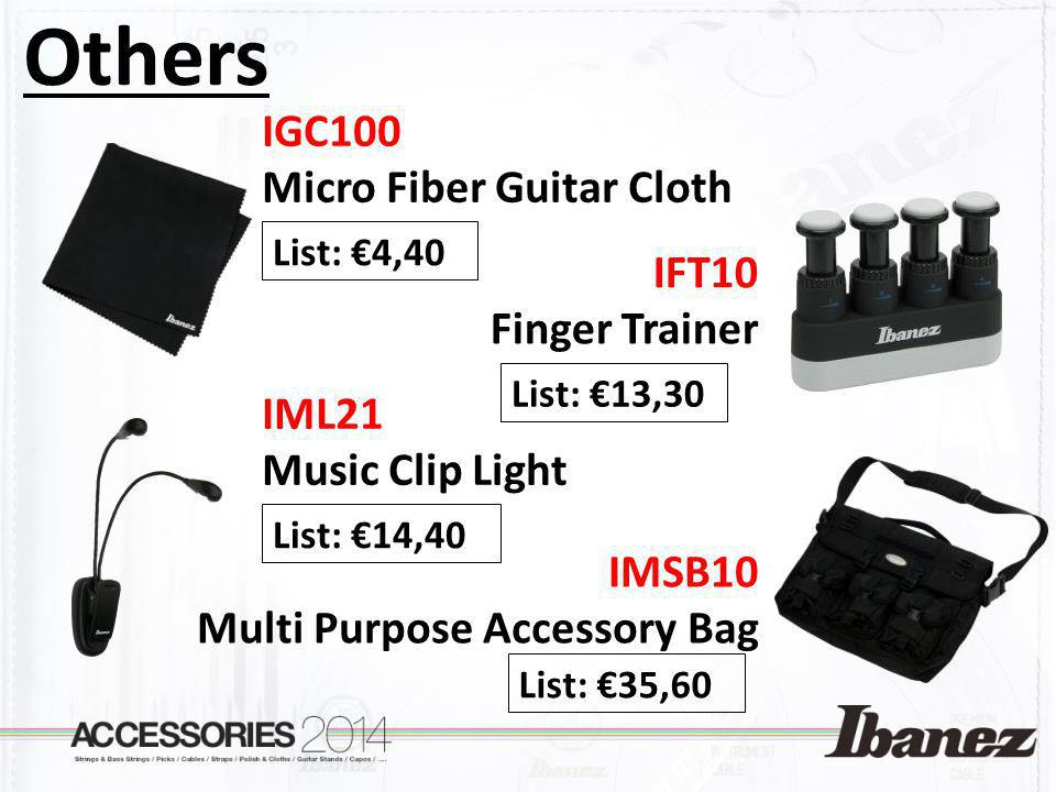 Others IGC100 Micro Fiber Guitar Cloth IFT10 Finger Trainer IML21