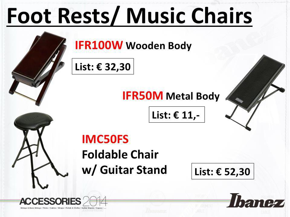 Foot Rests/ Music Chairs