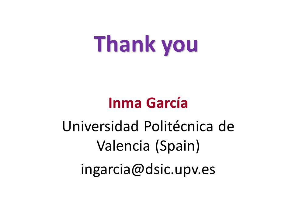 Universidad Politécnica de Valencia (Spain)