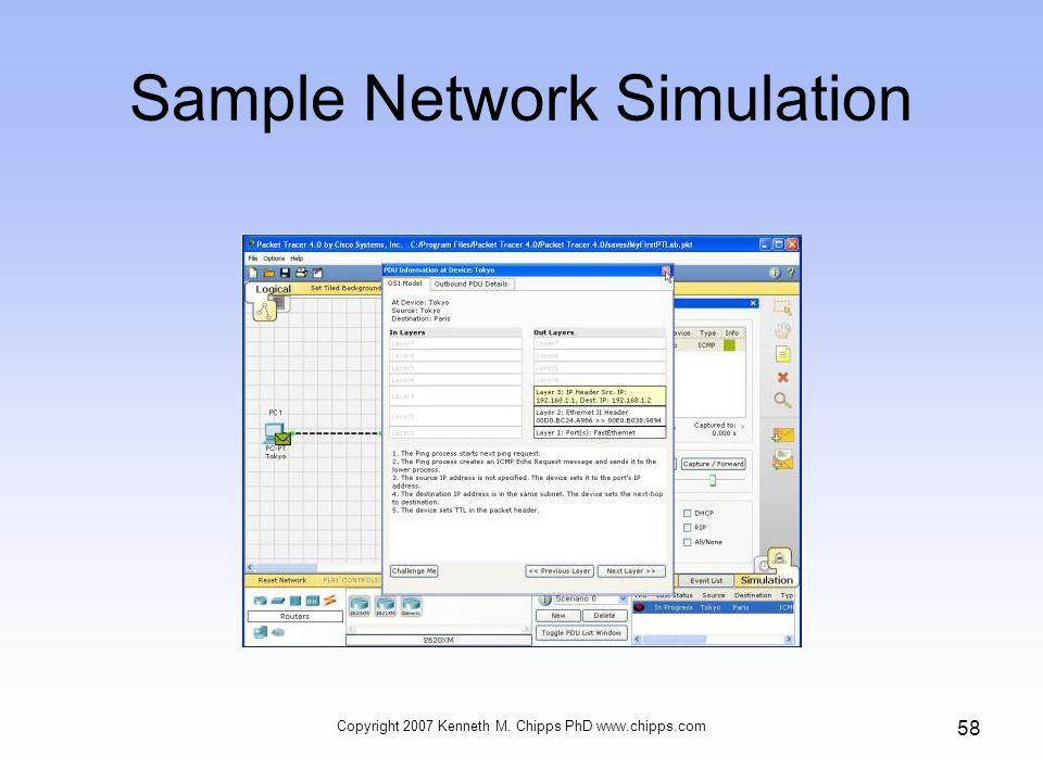 Sample Network Simulation