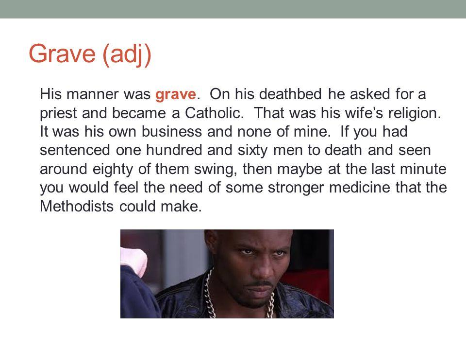Grave (adj)
