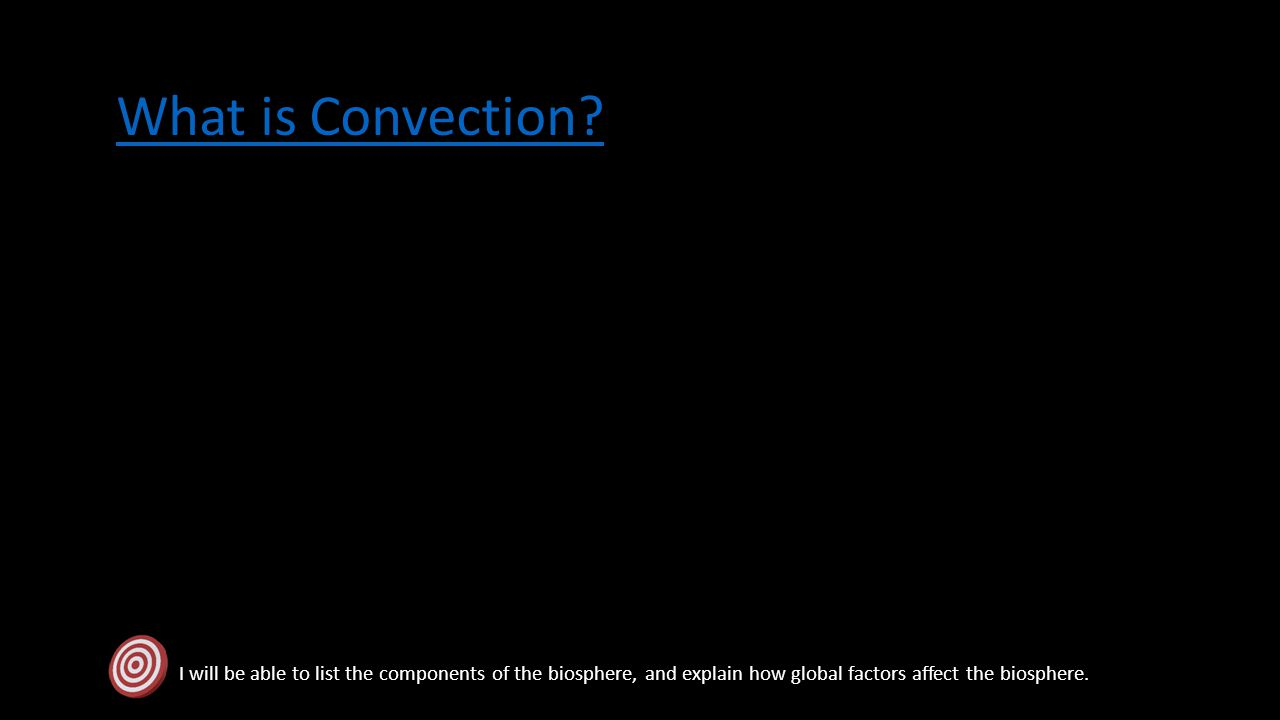 What is Convection.