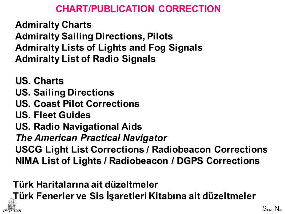 CHART/PUBLICATION CORRECTION