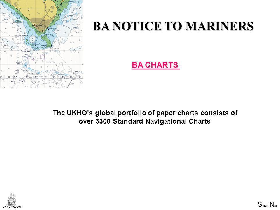 BA NOTICE TO MARINERS BA CHARTS