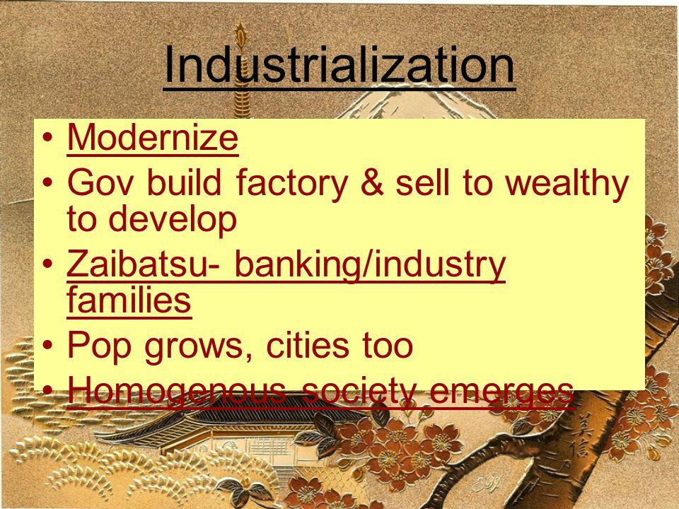 Industrialization Modernize
