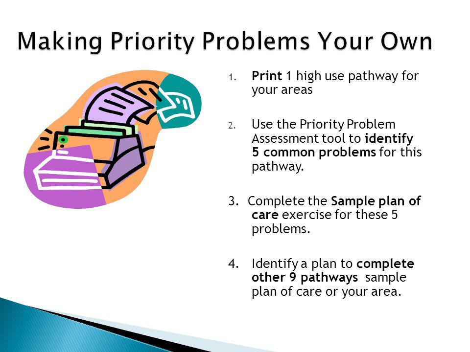 Making Priority Problems Your Own