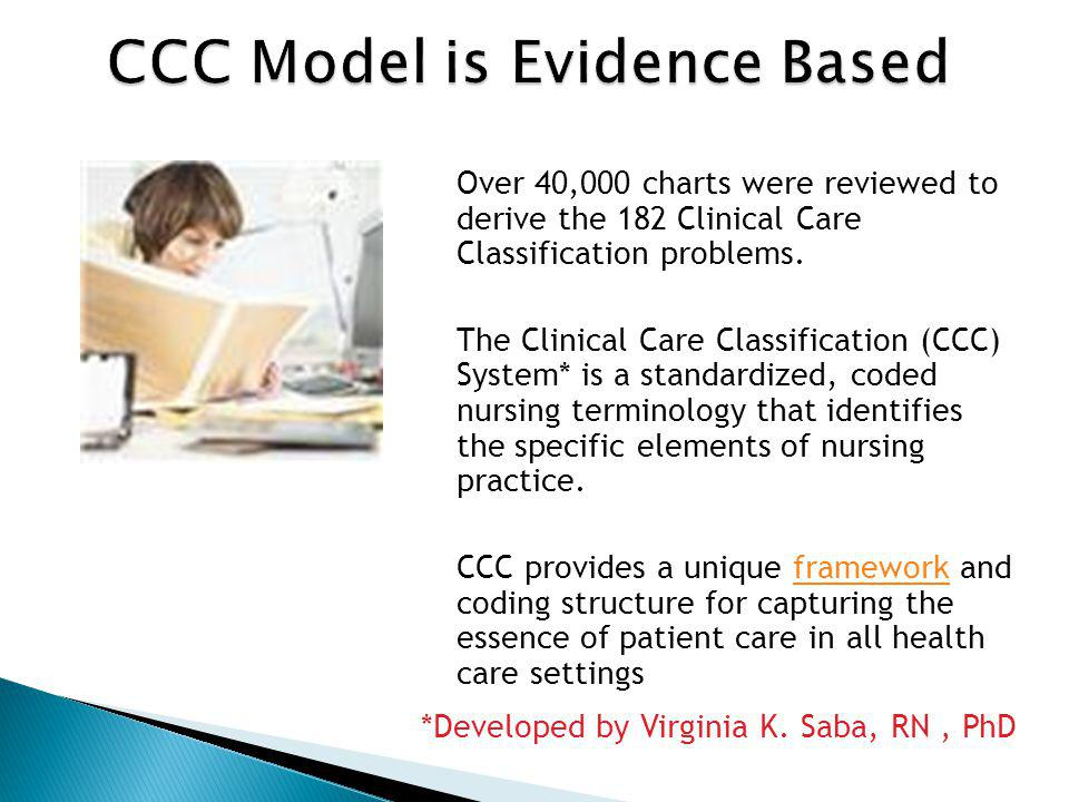 CCC Model is Evidence Based