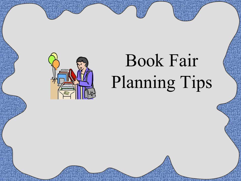 Book Fair Planning Tips