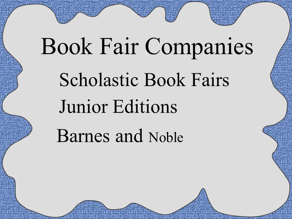 Book Fair Companies Scholastic Book Fairs Junior Editions