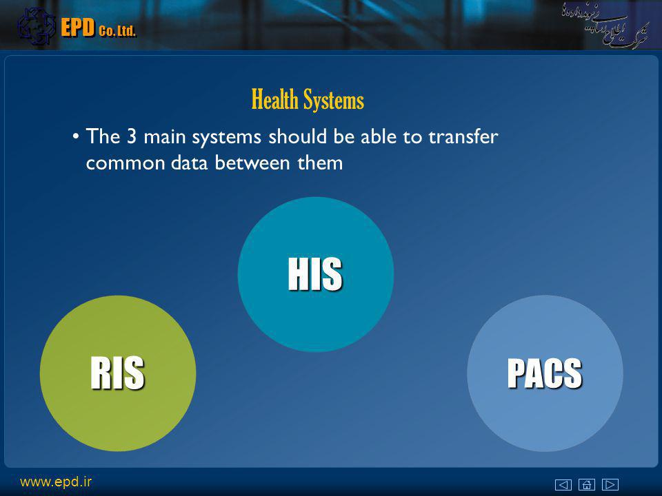 HIS RIS PACS Health Systems EPD Co. Ltd.