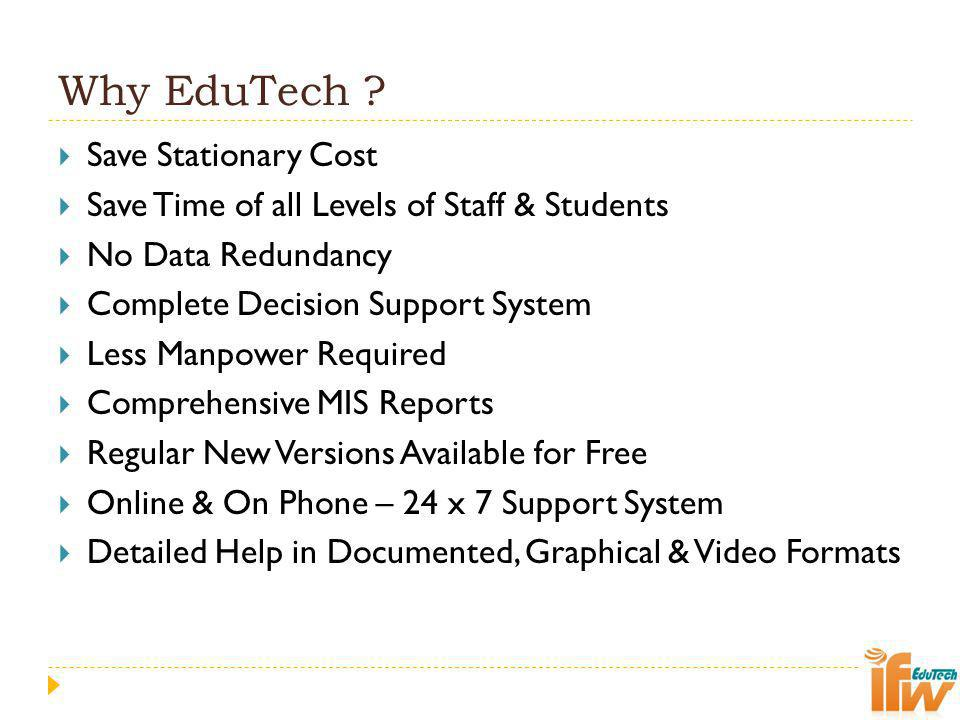 Why EduTech Save Stationary Cost