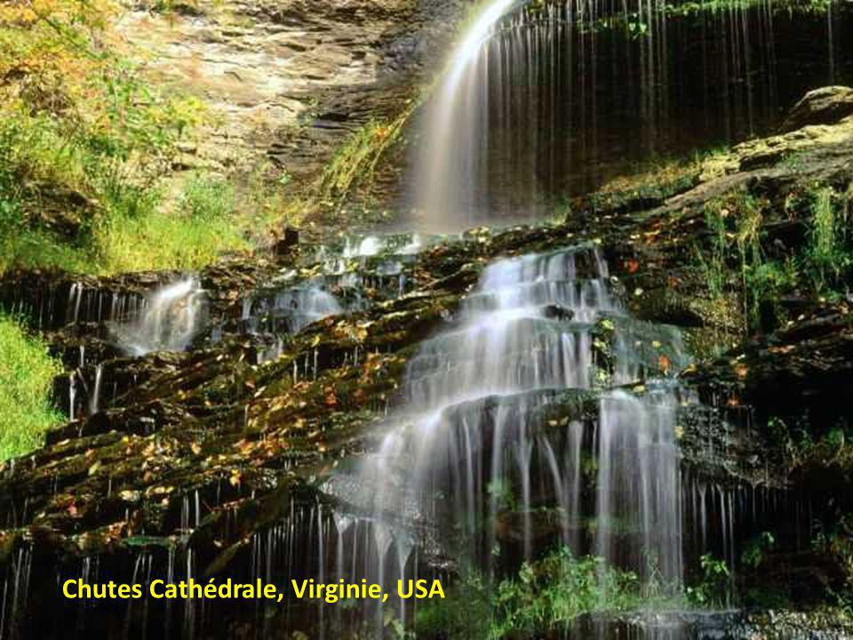 Chutes Cathédrale, Virginie, USA