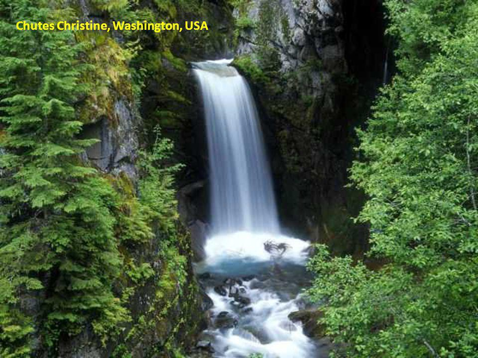 Chutes Christine, Washington, USA