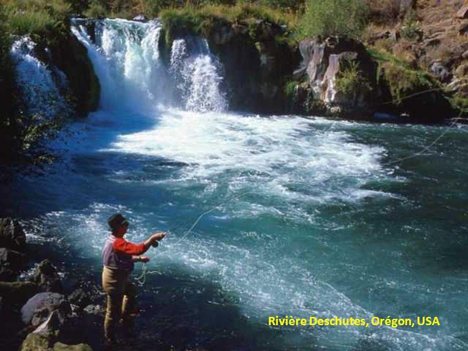 Rivière Deschutes, Orégon, USA