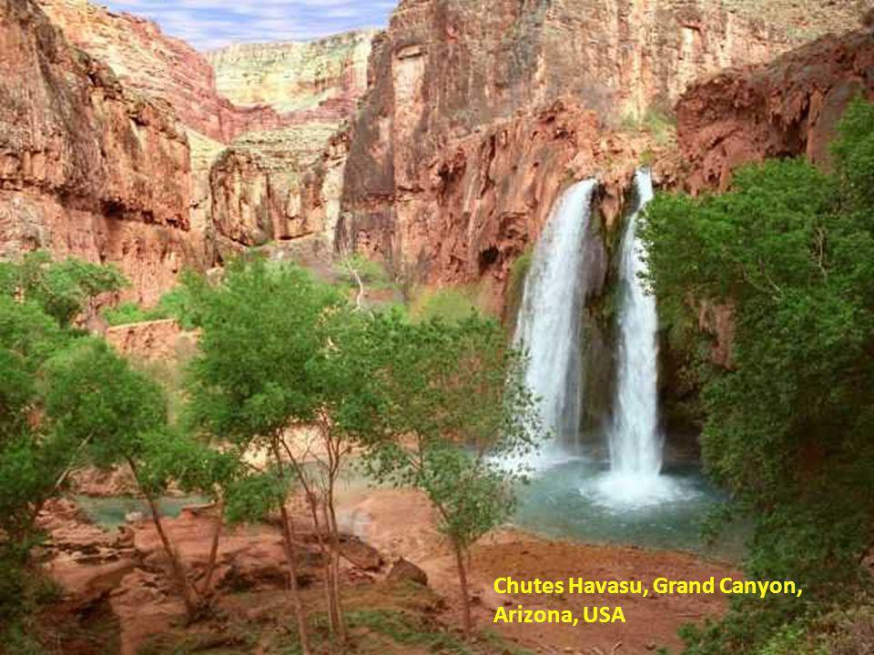 Chutes Havasu, Grand Canyon, Arizona, USA