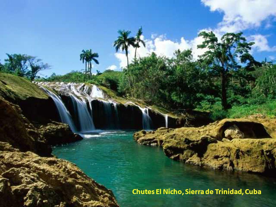 Chutes El Nicho, Sierra de Trinidad, Cuba