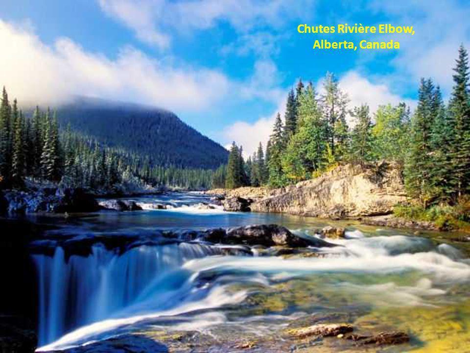 Chutes Rivière Elbow, Alberta, Canada