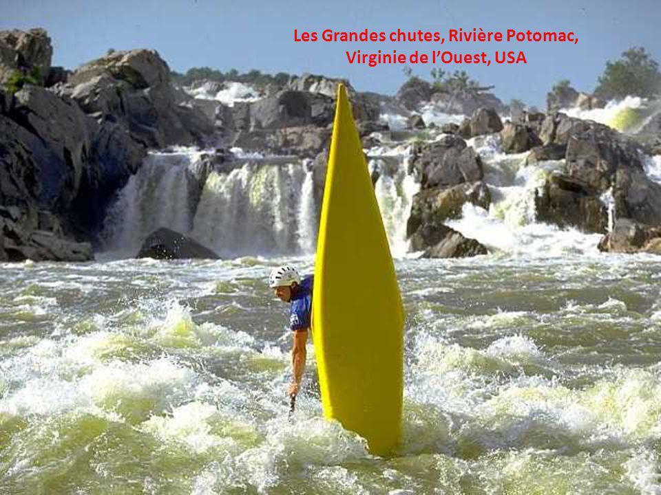 Les Grandes chutes, Rivière Potomac, Virginie de l'Ouest, USA