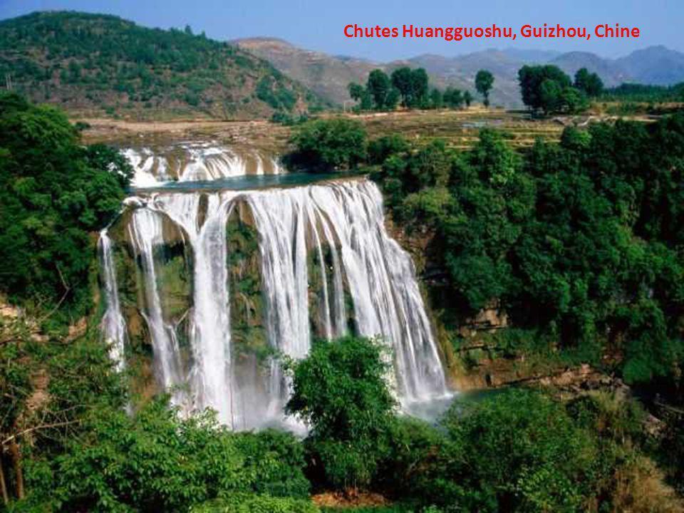 Chutes Huangguoshu, Guizhou, Chine