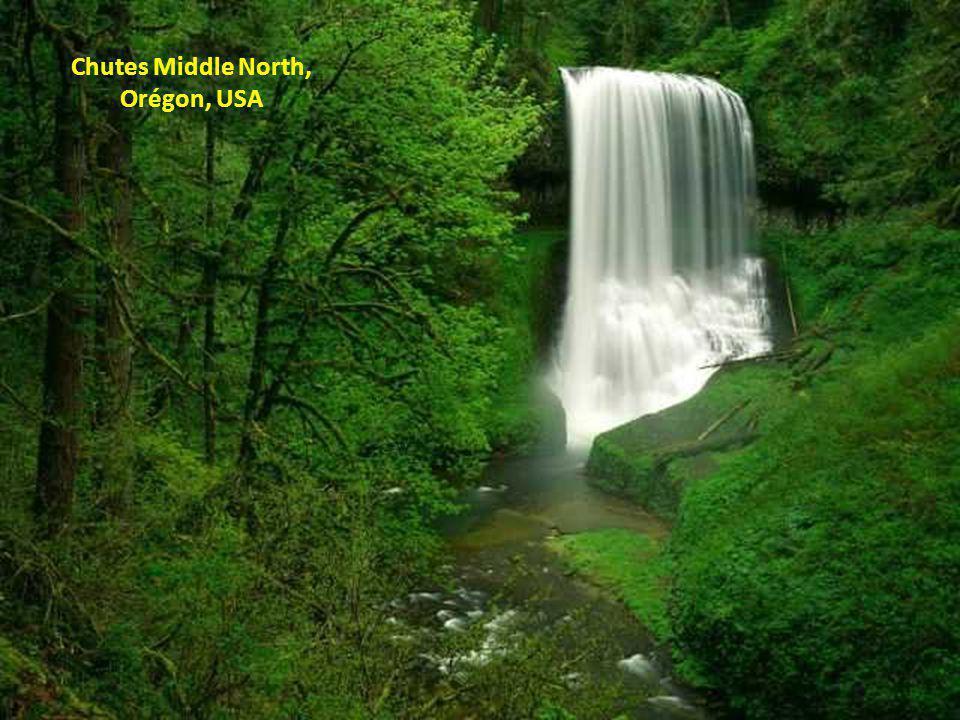 Chutes Middle North, Orégon, USA