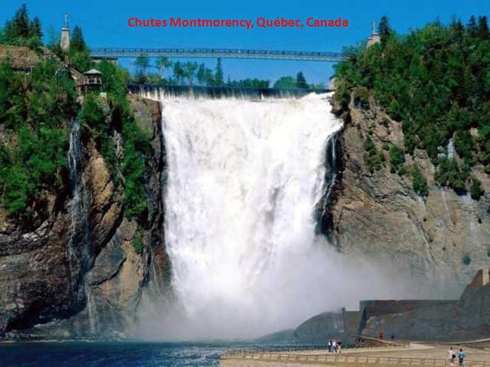 Chutes Montmorency, Québec, Canada