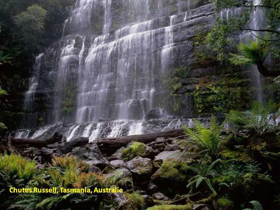 Chutes Russell, Tasmania, Australie