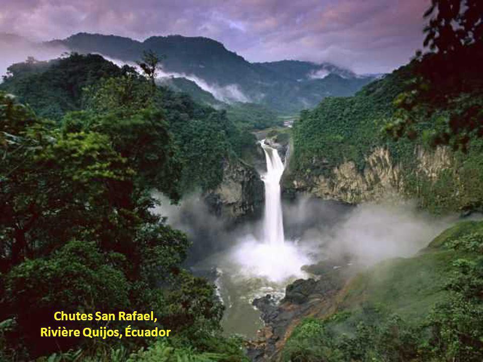 Rivière Quijos, Écuador